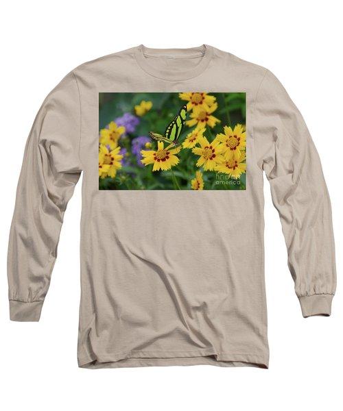 Malachite Butterfly Long Sleeve T-Shirt