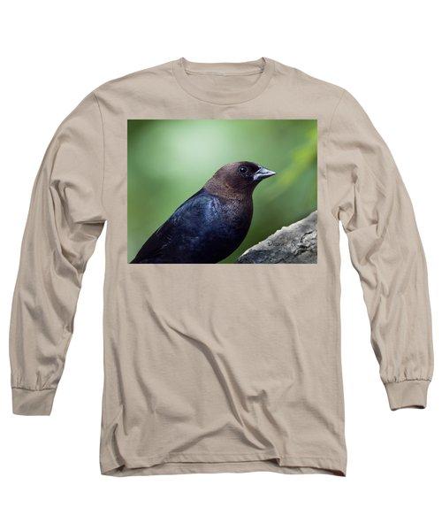 Male Cowbird Long Sleeve T-Shirt