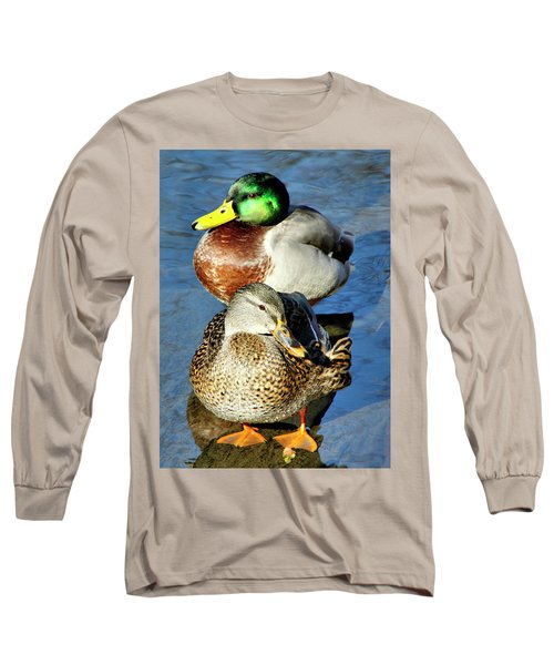 Mallard Couple Long Sleeve T-Shirt