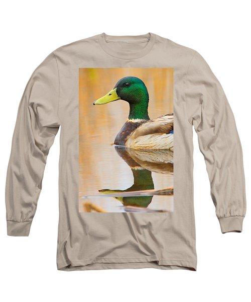 Mallard Mirror Long Sleeve T-Shirt