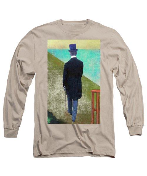 Man In Hat Long Sleeve T-Shirt