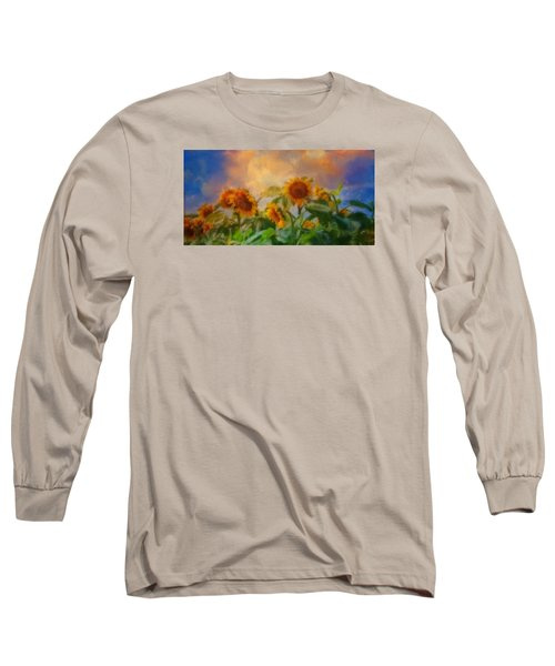 Man It's A Hot One Long Sleeve T-Shirt by Colleen Taylor