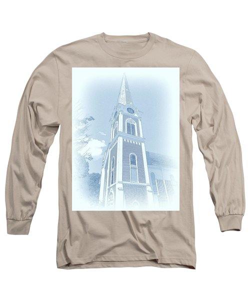 Manchester Vt Church Long Sleeve T-Shirt