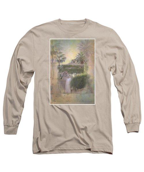 Mandalay Bay Long Sleeve T-Shirt by Christina Lihani