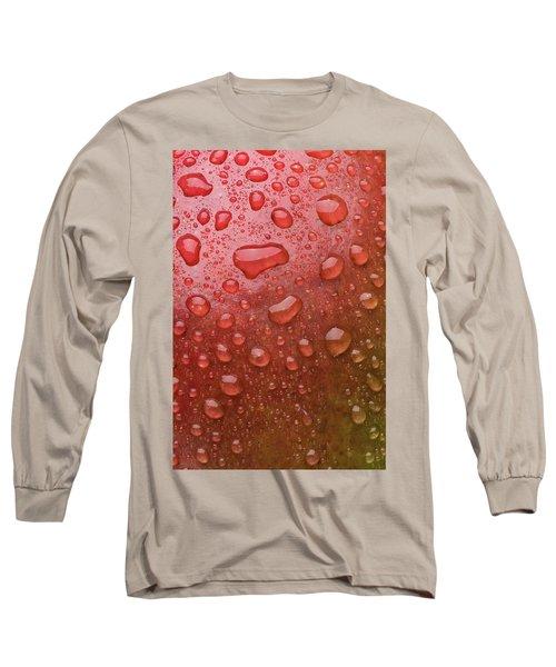Mango Skin Long Sleeve T-Shirt by Steve Gadomski