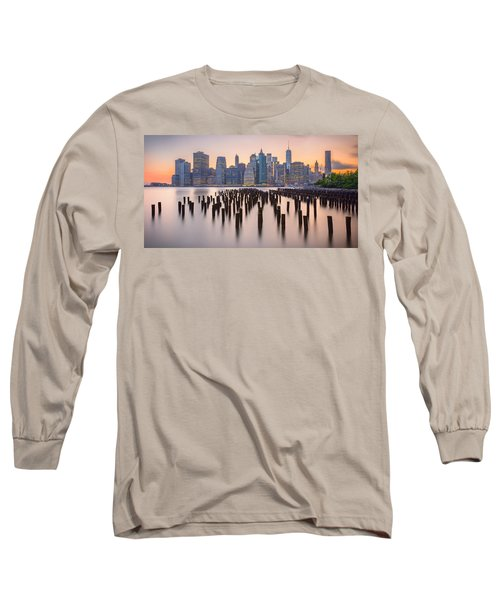 Manhattan Dusk Long Sleeve T-Shirt