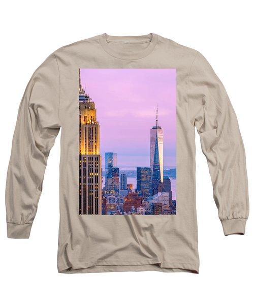 Manhattan Romance Long Sleeve T-Shirt