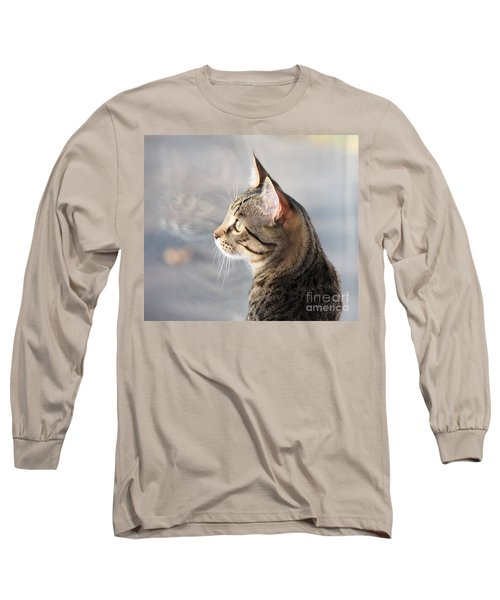 Many Faces Of Monty.. Long Sleeve T-Shirt