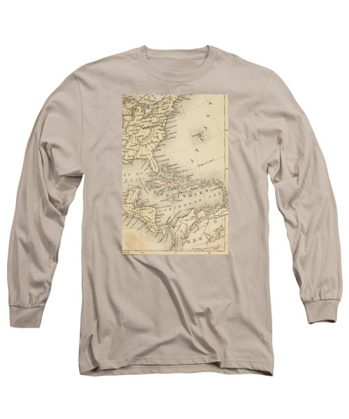 Map Long Sleeve T-Shirt by Sample