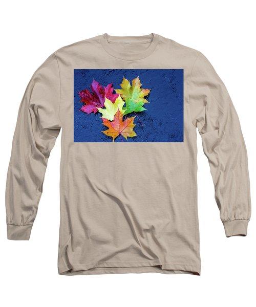 Maple Leaves Long Sleeve T-Shirt