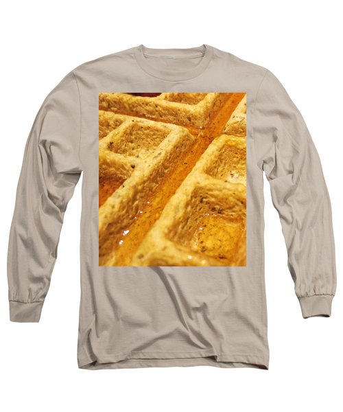 Long Sleeve T-Shirt featuring the photograph Maple Street by Robert Knight