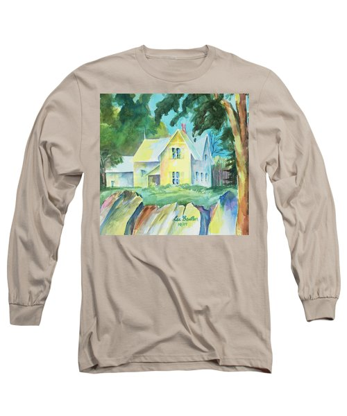 Marblehead Cottage Long Sleeve T-Shirt by Lee Beuther