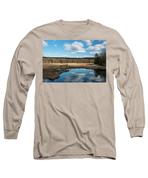 March Afternoon At Black Creek Long Sleeve T-Shirt
