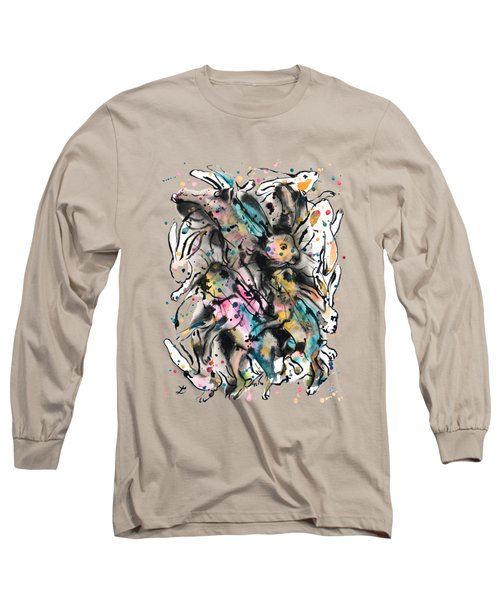 March Hares Long Sleeve T-Shirt