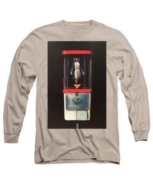 Marian Apparitions- 5 Cents Long Sleeve T-Shirt