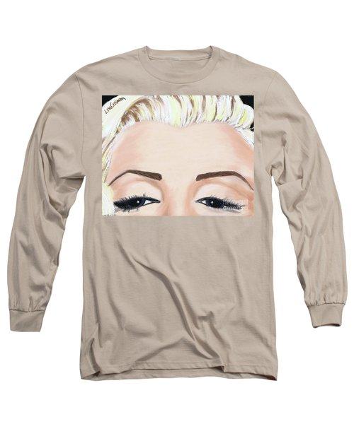 Marilyn Long Sleeve T-Shirt