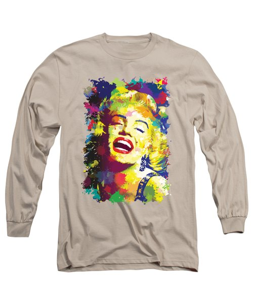 Marilyn Monroe Long Sleeve T-Shirt