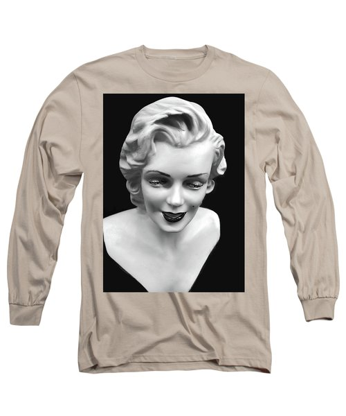 Marilyn Monroe Long Sleeve T-Shirt by JoAnn Lense