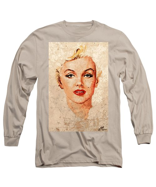 Marilyn Seductive Mix Long Sleeve T-Shirt