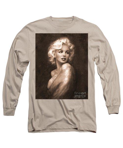 Marilyn Ww Sepia Long Sleeve T-Shirt