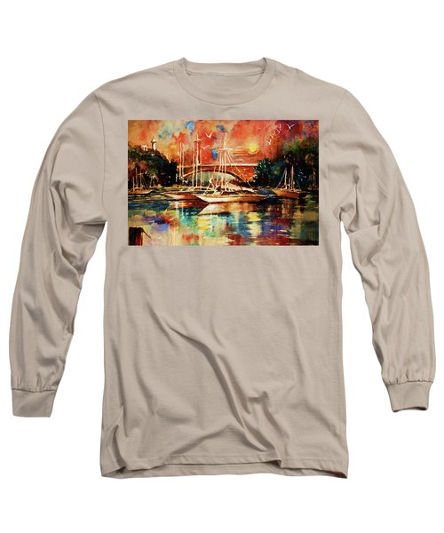 Marina Long Sleeve T-Shirt by Al Brown
