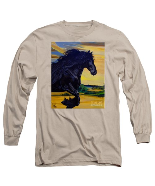Friesian Paradise Long Sleeve T-Shirt