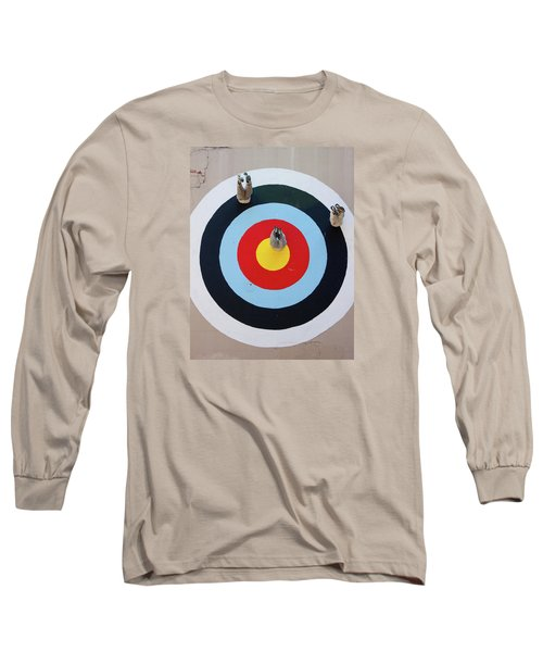 Long Sleeve T-Shirt featuring the photograph Mark Jenkins Target Mural by Jean Haynes