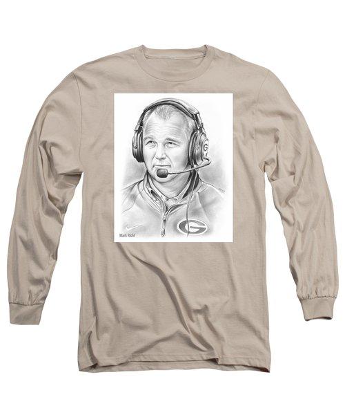 Mark Richt  Long Sleeve T-Shirt by Greg Joens