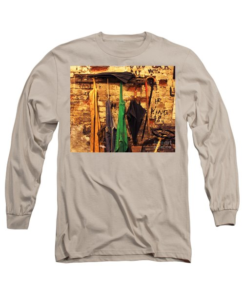 Mark Twain's Coat Rack Long Sleeve T-Shirt