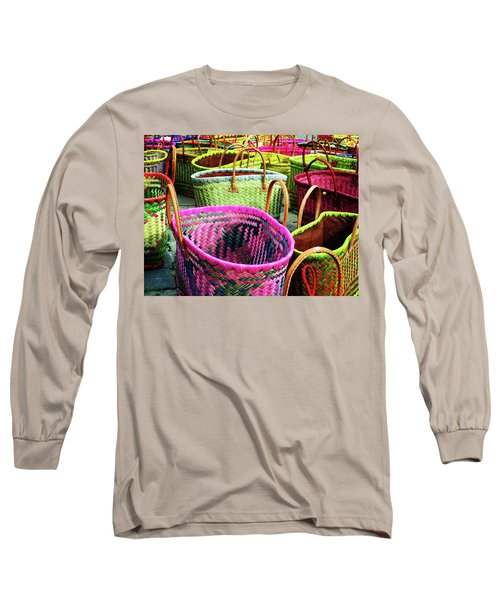Market Baskets - Libourne Long Sleeve T-Shirt
