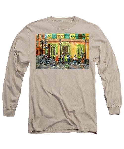 Market Musicians Long Sleeve T-Shirt