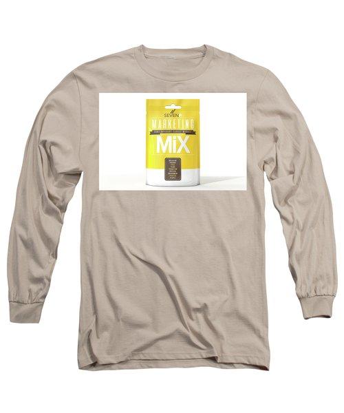 Marketing Mix 7 P's Long Sleeve T-Shirt