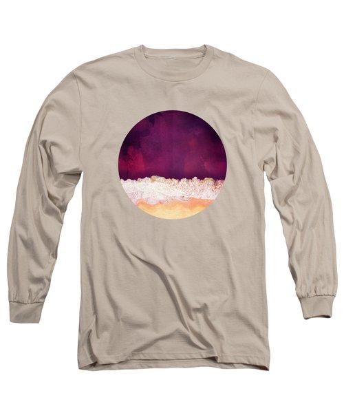 Maroon Ocean Long Sleeve T-Shirt