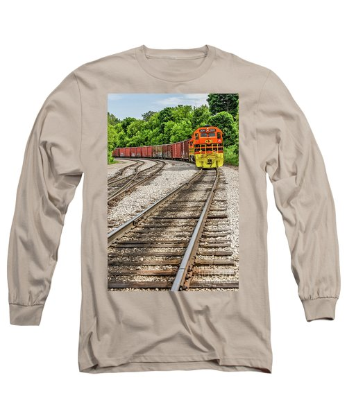 Marquette Rail Carrier Long Sleeve T-Shirt