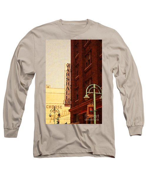 Marshall Bldg Long Sleeve T-Shirt