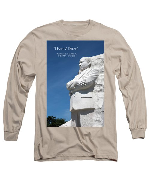 Martin Luther King Jr. Monument Long Sleeve T-Shirt