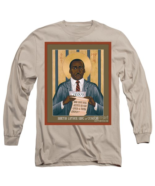 Martin Luther King Of Georgia  - Rlmlk Long Sleeve T-Shirt