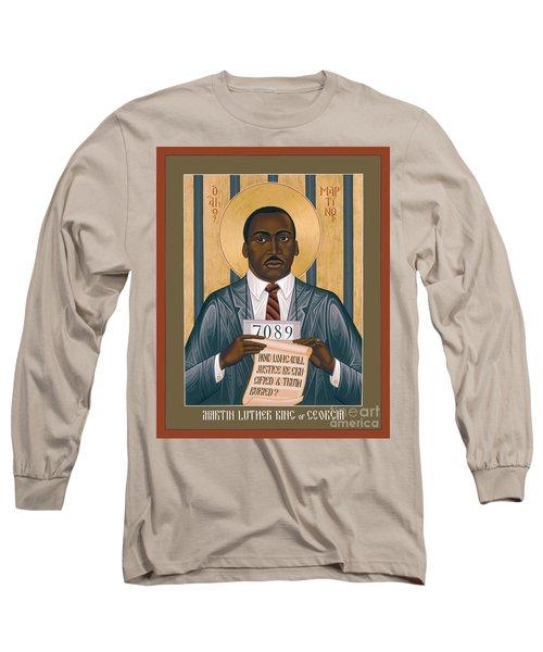 Martin Luther King Of Georgia  - Rlmlk Long Sleeve T-Shirt