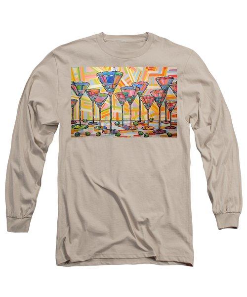 Martini Hour Long Sleeve T-Shirt