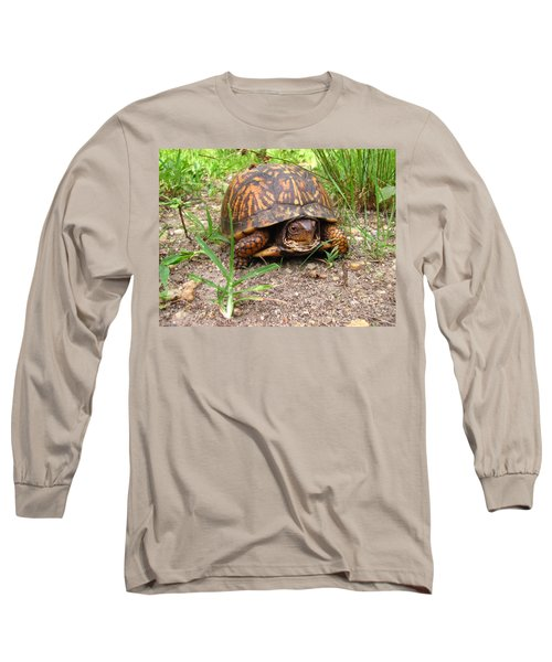 Maryland Box Turtle Long Sleeve T-Shirt