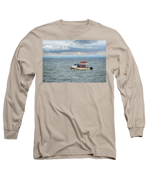 Maryland Crab Boat Fishing On The Chesapeake Bay Long Sleeve T-Shirt