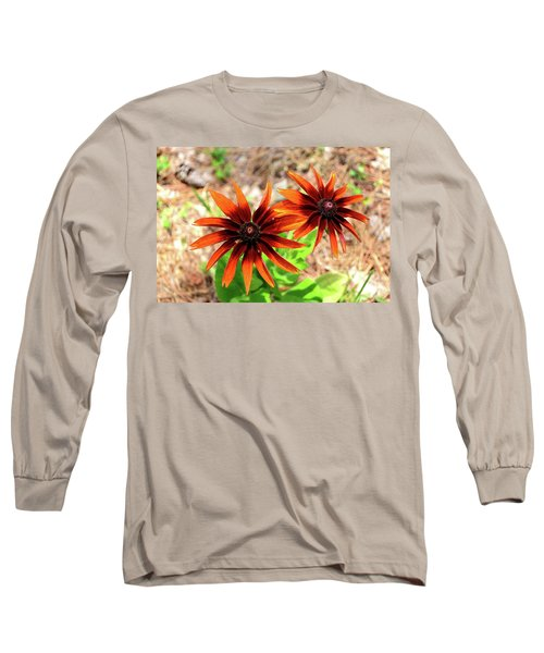 Long Sleeve T-Shirt featuring the photograph Masked by Larry Bishop