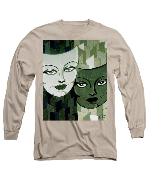 Masks Verde Long Sleeve T-Shirt