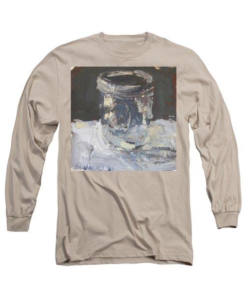 Long Sleeve T-Shirt featuring the painting Mason Jar  by Robert Joyner