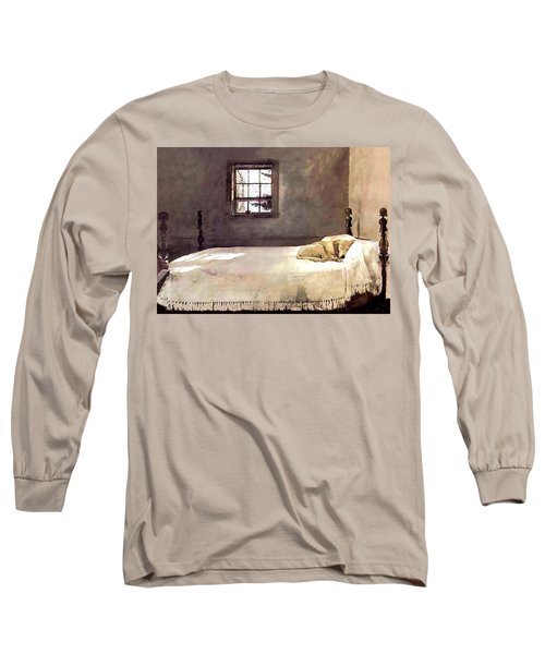 Long Sleeve T-Shirt featuring the painting Master Bedroom  by Andrew Wyeth