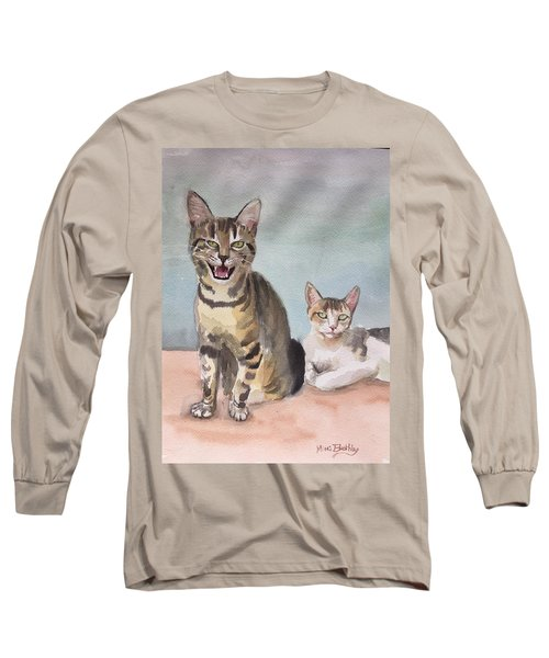 Maxi And Girlfriend Long Sleeve T-Shirt