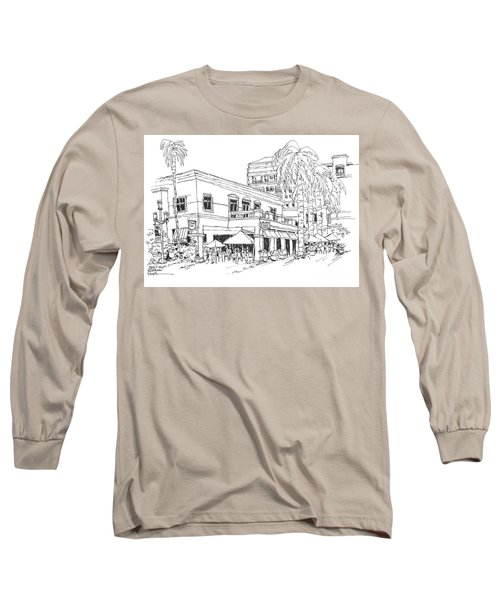 Max's Cafe In Mizner Park, Florida Long Sleeve T-Shirt