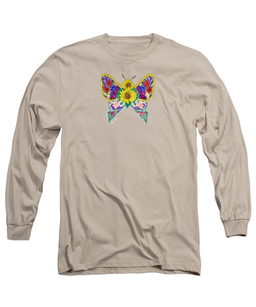 May Butterfly Long Sleeve T-Shirt