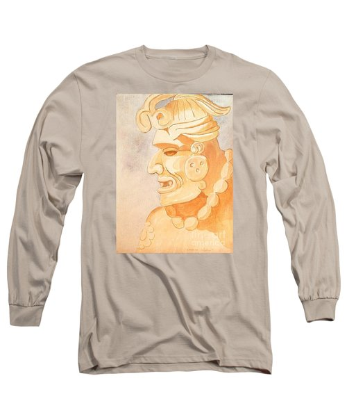 Mayan Warrior Long Sleeve T-Shirt