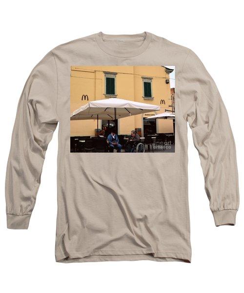 Mcdonald's In Pisa, Italy Long Sleeve T-Shirt